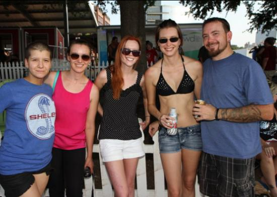 Behind the Scenes - Trinity River Party